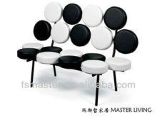 drum chair/Nelson Marshmallow Sofa by Herman Miller