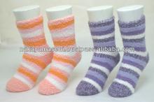 Like a marshmallow microfiber socks soft and warm