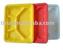 corn starch based bio lunch food container dinnerware