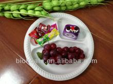 Disposable China corn starch plate for party