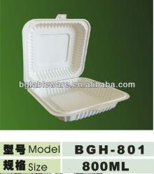 dispostable corn starch lunch box