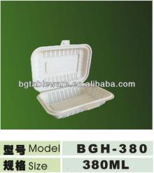biodegradable corn starch eco-friendly lunch box