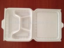 corn starch based  lunch   box , disposable tableware