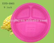 9 inch biodegradable corn starch disposable plates products