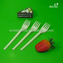 Flatware corn starch biodegradable plastic fork