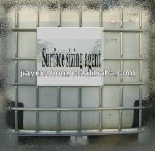 Paper surface sizing agent with modified corn starch