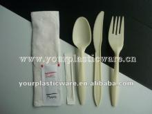 Promotional Price Corn starch Biodegradable Tableware