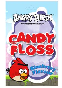 Angry bird candy floss