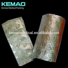 embossing and lacquer 12-16micron Chocolate Bar Foil Wrap
