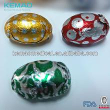 Colored Aluminum  Wrapping   Foil  for Chocolate eggs