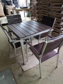 Brushed Aluminum Table Legs,Polywood Table