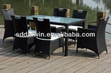 2014 Best Selling 7 Pieces Outdoor Wicker Dining Set