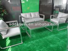 Patio furniture outdoor rattan dining table chairs rattan balcony sofa set(DW-SF041+DW-SF042+DW-GT14