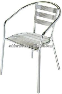 Outdoor coffee shop luminum frame furniture chair (DW-A011)