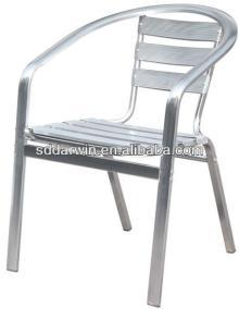 Outdoor coffee shop luminum frame furniture chair (DW-A010)