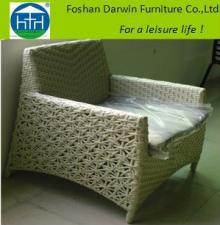 Delicate designs outdoor furniture flower  rattan   chair  (DW-AC001)