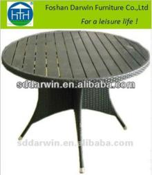 Outdoor China Garden Plastic Wood Coffee Table Furniture DW-DT028