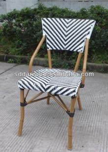 Costco furniture bamboo look aluminium outdoor chair(DW-BC029)