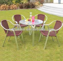 coffee tables and rattan chairs DW-DT5544