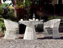 Leisure design outdoor furniture sets white rattan outdoor furniture