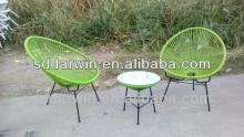 China local rattan table and chairs(DW-AC052)