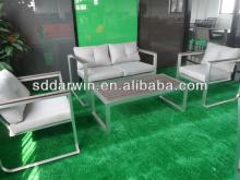 Patio furniture antique furniture caster  seat   cushion s sofa(DW-SF041+DW-SF042+DW-GT14)