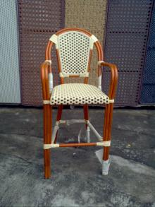 Bar and lounge furniture luxurious wood bar stool (DW-BC007)
