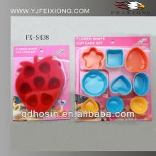 Best sell silicone cake and chocolate colorful molds