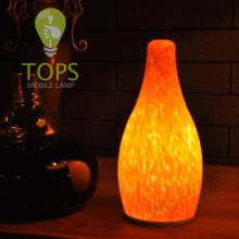 Modern turkish mobile art glass lamp no wires & sockets with luxury stained glass lamp