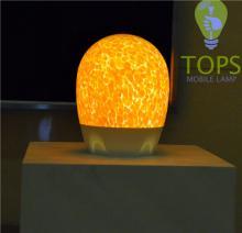 Lamp work glass bead Handmade glass lamp Modern outdoor lighting lamps
