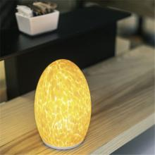 12V 1.5W 50hrs murano glass floor lamp wireless charger with stained glass shade
