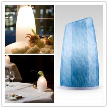 Fashion 2014 12v glass lamp  cylinder  and hotel outdoor lamp in painted glass