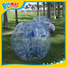 funny clear soccer bubble for football game