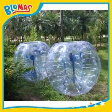 0.8mm thickness bubble zorb ball for football game