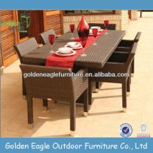 cheap outdoor furniture rattan dining set