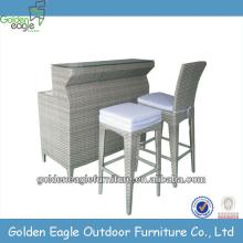 outdoor furniture one table two chairs set