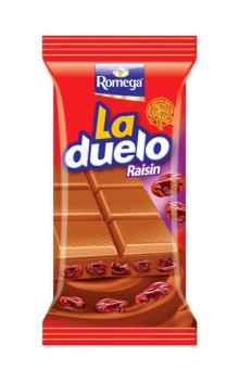 LaDuelo %20 Raisin Milk Chocolate Tablet 60gr