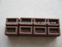 promotion al gifts chocolate usb stick/chocolate  pen  drive