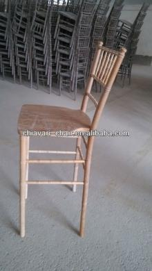 cheap wooden tall chiavari modern bar chair