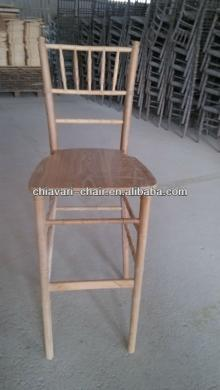 cheap used solid wood high bar stool price