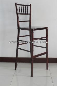 outdoor stackable furniture solid wood chiavari hotel bar stools