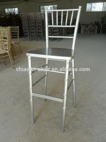 outdoor stackable solid wood coffee shop modern bar chair