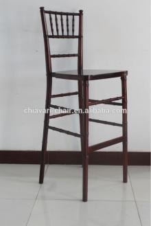outdoor stackable solid wood chiavari chairs used