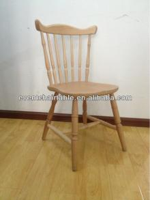 wooden banquet chair