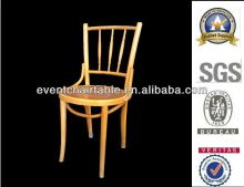 European style wooden dining chair