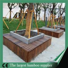 high quality Dark Chocolate Color bamboo decks outdoor