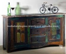 Dark Chocolate Recycled Wood Furniture