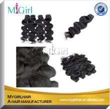 MyGirl Hot sale!! 5a grade can you  dye  chocolate  hair  weave