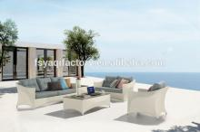 Modern good quality outdoor rattan sofa set(YA-3049)
