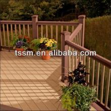 wood plastic composite decking, wpc railling
